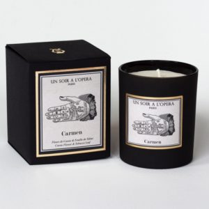 Carmen Opera Candle
